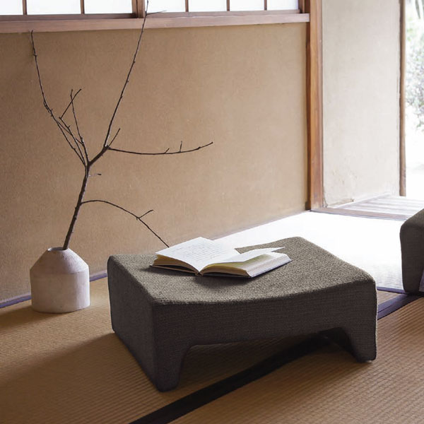 和座椅子布団業務用家具座布団背なし座いす業務用セミオーダーhana-1