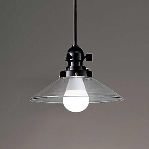 昭和レトロデザイン 透明ガラス   ペンダントライト天井照明 ランプ別 erp7136cb