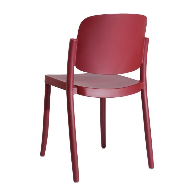 デザイナーズチェア カフェ 椅子 業務用 カフェガーデンチェアおしゃれ屋内外使用可 7色 piazza1