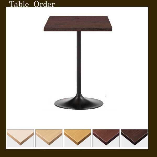 カフェテーブルコーヒーテーブル正方形45cm〜50cメラミン木目業務用家具店舗用家具 tp191-ft1