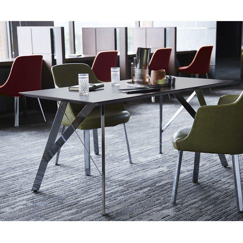 ダイニングテーブルカフェレストランテーブル 製作店舗テーブル業務用家具幅150cm tp193-ahmcr