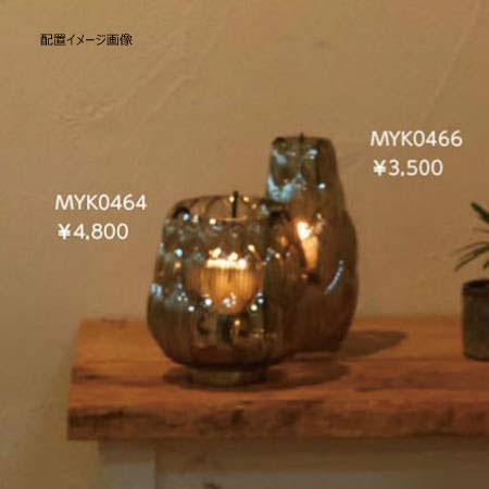 キャンドルホルダー アジアンテイストガラス おしゃれオブジェ インテリア雑貨 myk0465