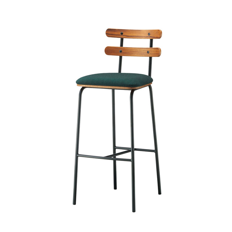 カフェカウンターチェアバーチェア業務用家具店舗用家具木金属混合デザインforest-ch