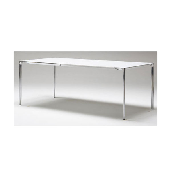 Arperダイニングテーブル モダンデザイナーズテーブル天板/アルミ脚幅2m mut0036al