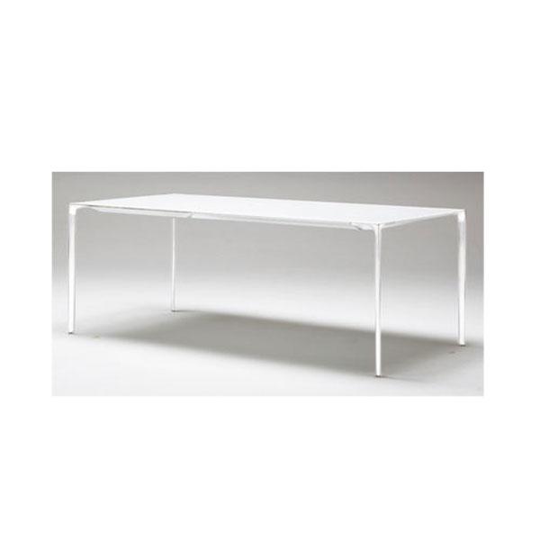 Arperダイニングテーブル モダンデザイナーズテーブルオールホワイト色幅1.8m mut0038wh
