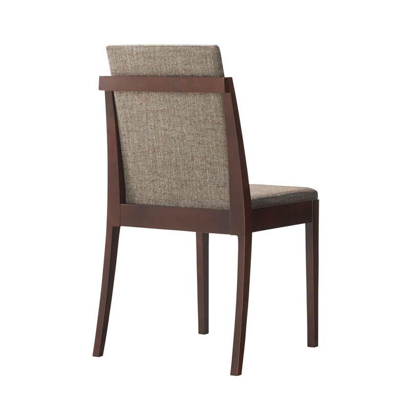 スタッキング可能な木製チェアダイニングチェア在業務用店舗用椅子 unive