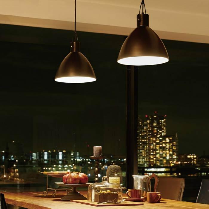 ブロンズペンダントライトアメリカンレトロシンプル 倉庫風 店舗用天井照明  ERP7456DB