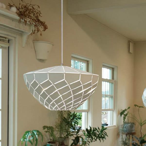 ペンダントランプ ナチュラルモダン ビンテージ 空間照明 カフェ 天井照明 ホワイトerp7459w