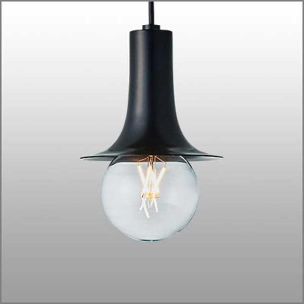 ペンダントライト アルミシェード レトロモダン照明  ショ−トナロー ブラック(ランプ同梱可能) mp40606-02