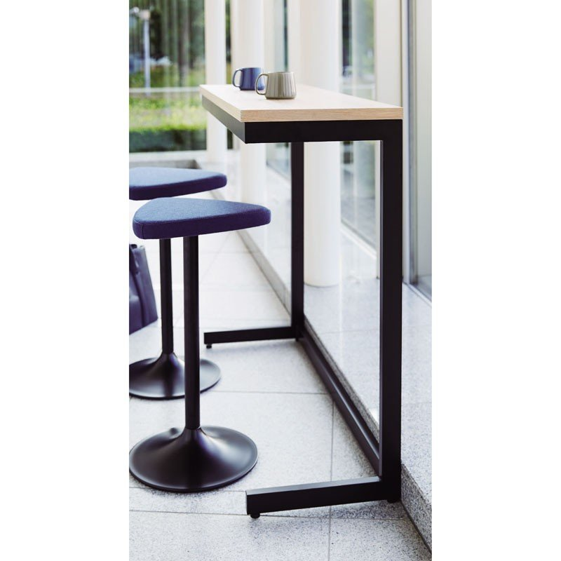 カウンターテーブル 壁面テーブル古材風 木縁 業務用店舗家具天板 幅120cm  tp172-ft413