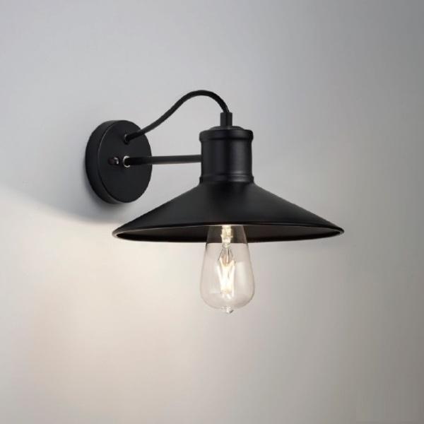 アンティークなブラケット照明 おしゃれレトロ 北欧ブラック壁面照明 erb6568b