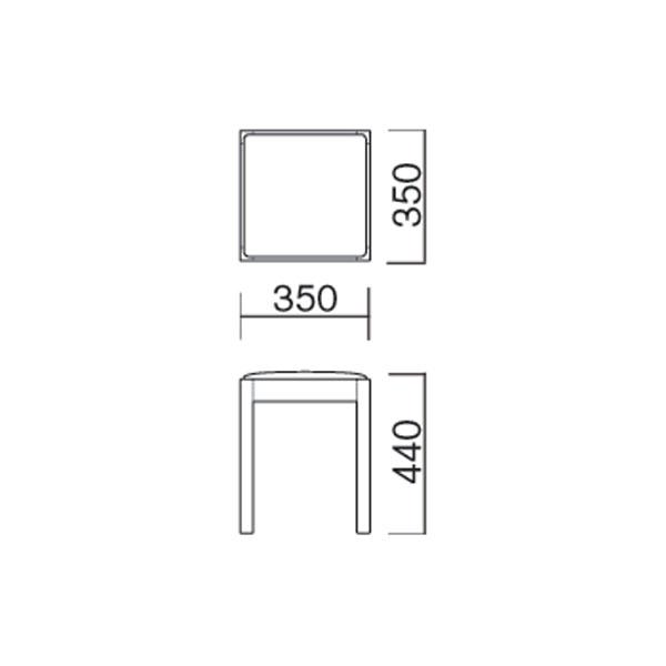 和風木製スツールスタッキングチェア飲食店スツール業務用家具店舗用家具店舗用いすpot-2