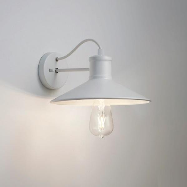 ブラケット照明 おしゃれレトロ 北欧ホワイト壁面照明 erb6568w