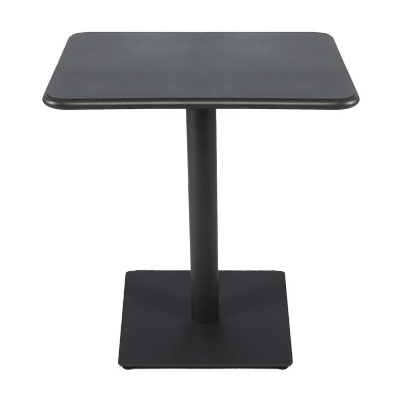 限定特別価格 店舗業務用 ガーデンテーブル アウトドアテーブル アルミ製 70×70cm送料込  myt0600