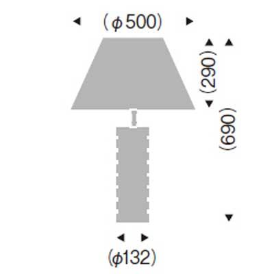 照明 テーブルスタンド卓上ランプミッドセンチュリー・デザイナーズ・モダン間接照明 LEDランプ照明 ERF2027CB