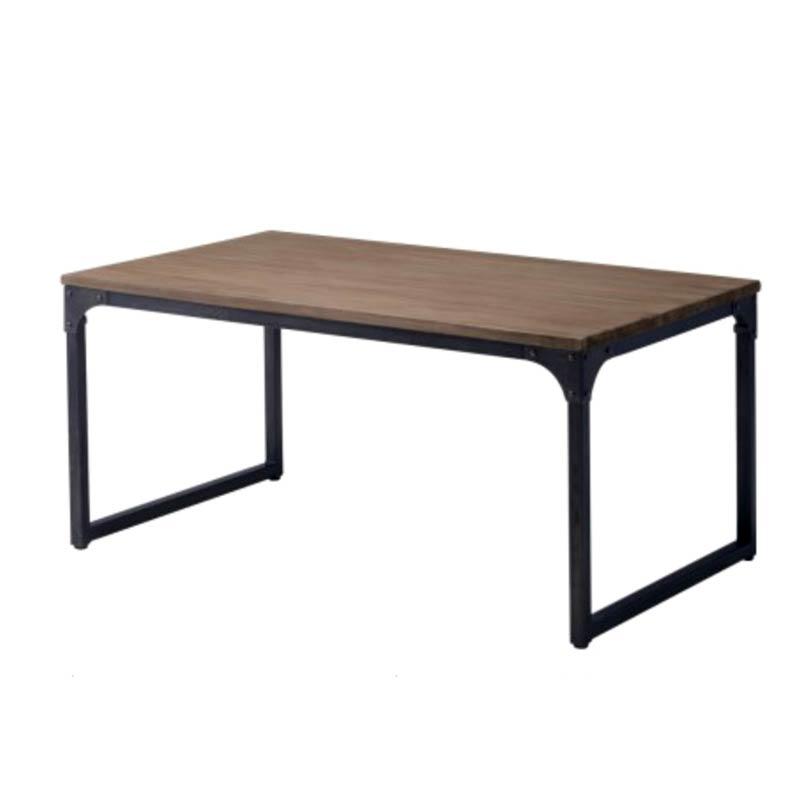 ワークテーブルダイニングテーブル150×90高さ70cm インダストリアル 家具レトロアメリカン インテリア業務用店舗家具 chicagotable150