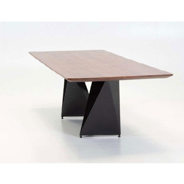 ダイニングテーブル ウォールナット突板 ワイドテーブル 幅2.2m myt0533bd
