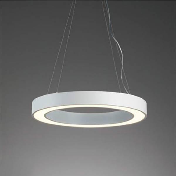 ペンダント照明ホワイトリングペンダントLEDモジュール内蔵型 直径90cm erp7393w