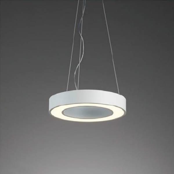 ペンダント照明ホワイトリングペンダントLEDモジュール内蔵型 直径60cm erp7394w