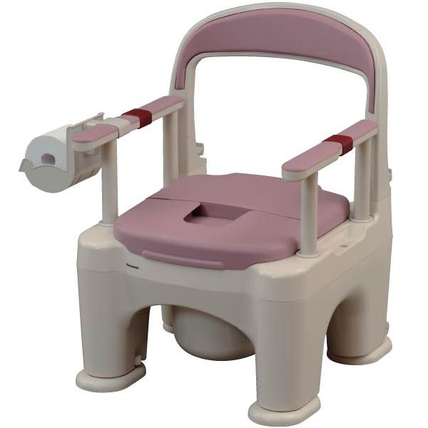 樹脂製トイレ 座楽 ラフィーネ【プラスチック便座】【前後傾斜脚ゴム付き】