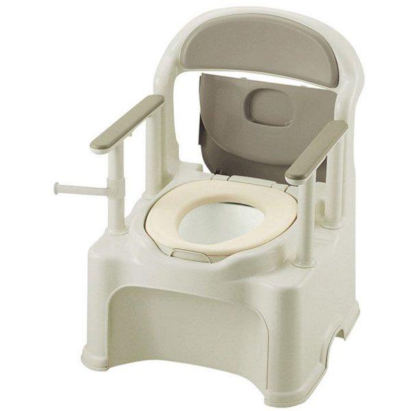 ポータブルトイレきらく PY2型(やわらか便座)