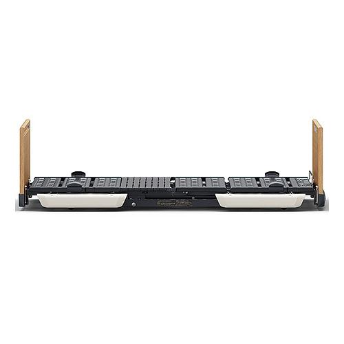 【キャスター付】楽匠FeeZ(フィーズ) 2モーター 超低床電動介護ベッド