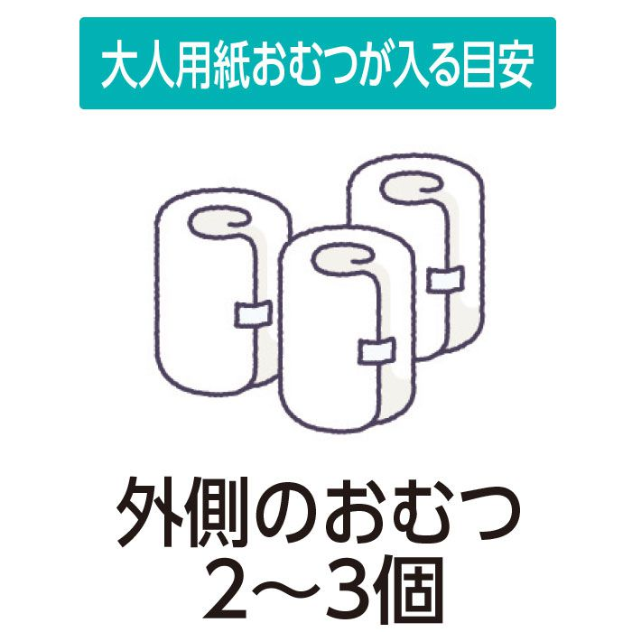 (クリロン化成)おむつがにおわない袋BOS大人用LLサイズ(60枚入)