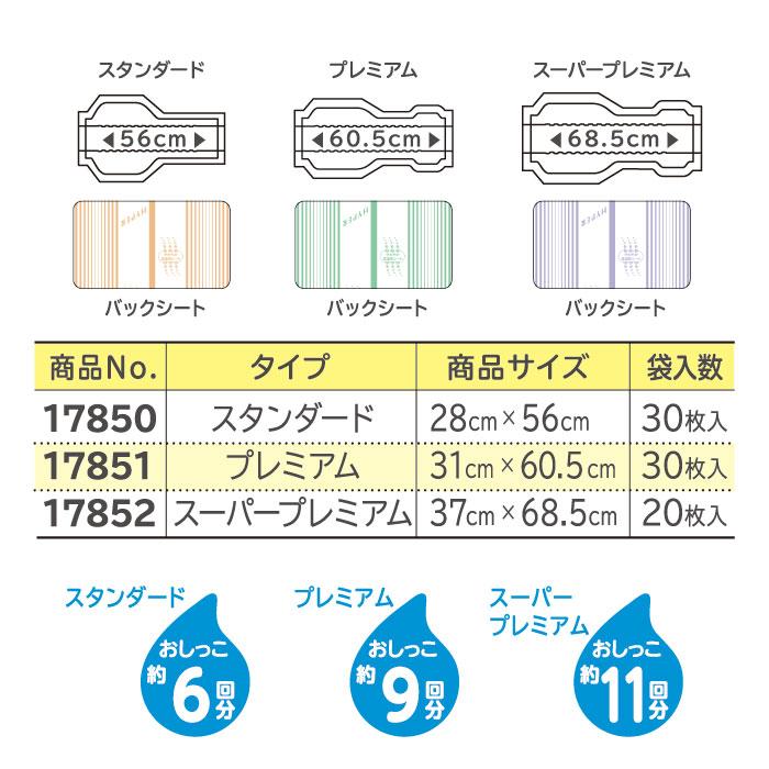 【リサイクル箱でお届け】リフレ 高吸収パッドタイプ ハイパースーパープレミアム(20枚入×1袋)(おしっこ約11回分)【大容量・透湿性の尿取りパッド】
