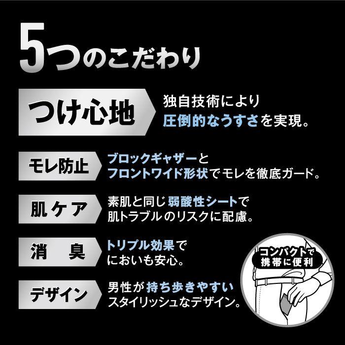 リフレ 超うす安心パッド 男性用 80cc(22枚入×24袋)【ケース販売】【送料無料】