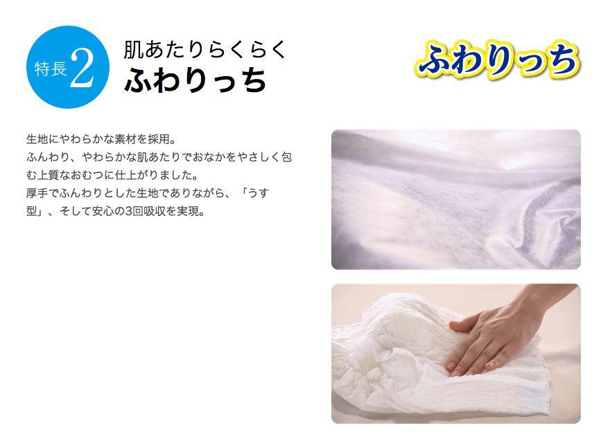 【リサイクル箱でお届け】PUサルバ やわ楽パンツ安心うす型M−Lサイズ(22枚入り×1袋)(ウエストサイズ:60〜95cm)(おしっこ約3回分)