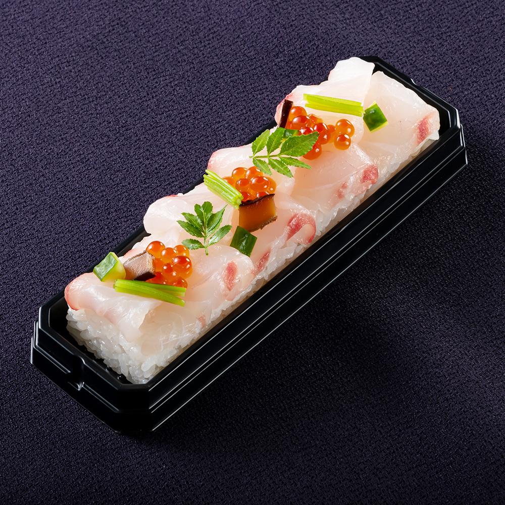 ふくいサーモンと鯛の昆布〆鮨 2本セット