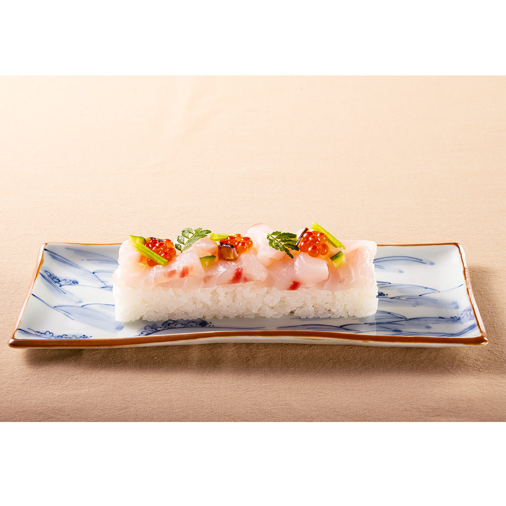 鯛の昆布〆鮨