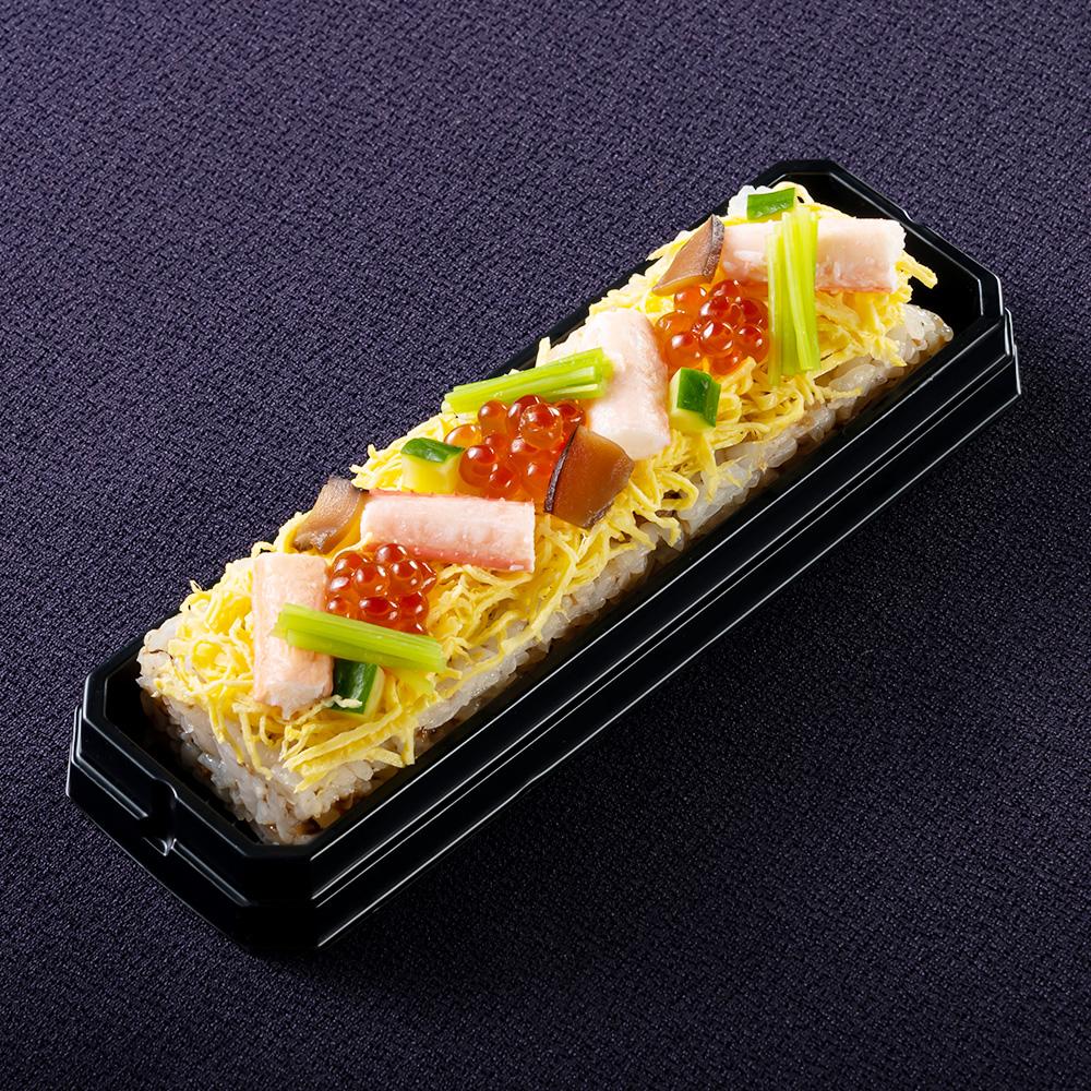 ふくいサーモンのはらこ鮨 焼き穴子鮨 蟹ちらし鮨 3本セット