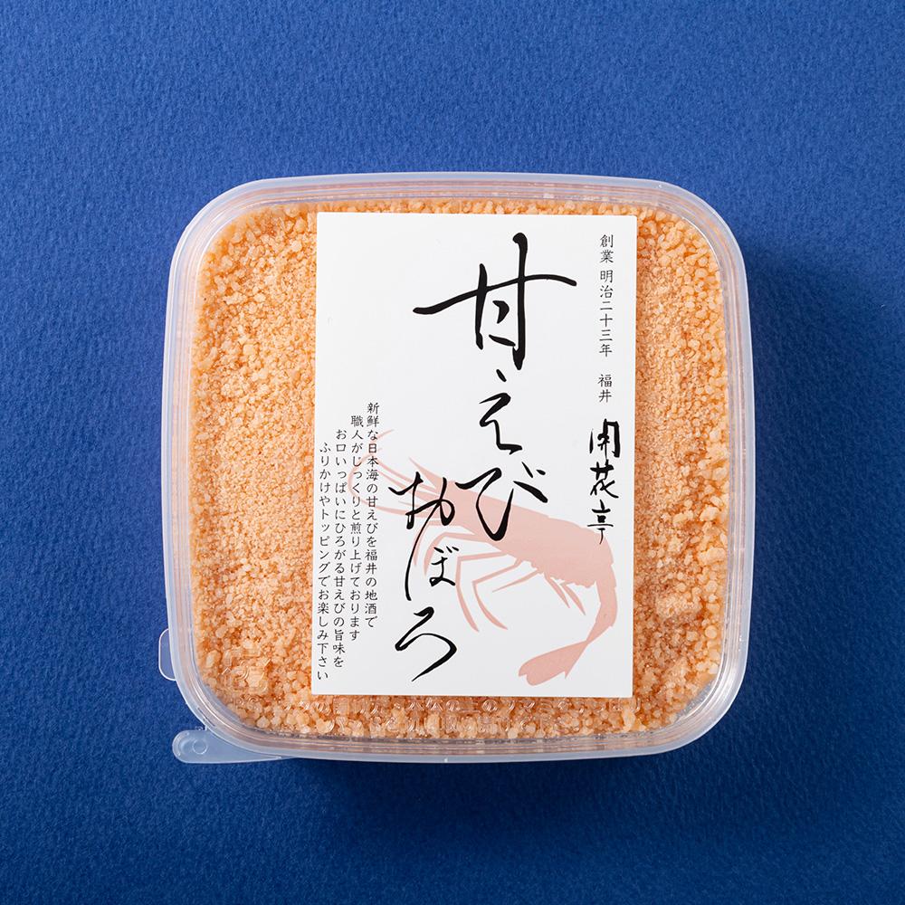蟹の淡雪(2ヶ)・甘えびおぼろ・鯛こがね 4ヶセット