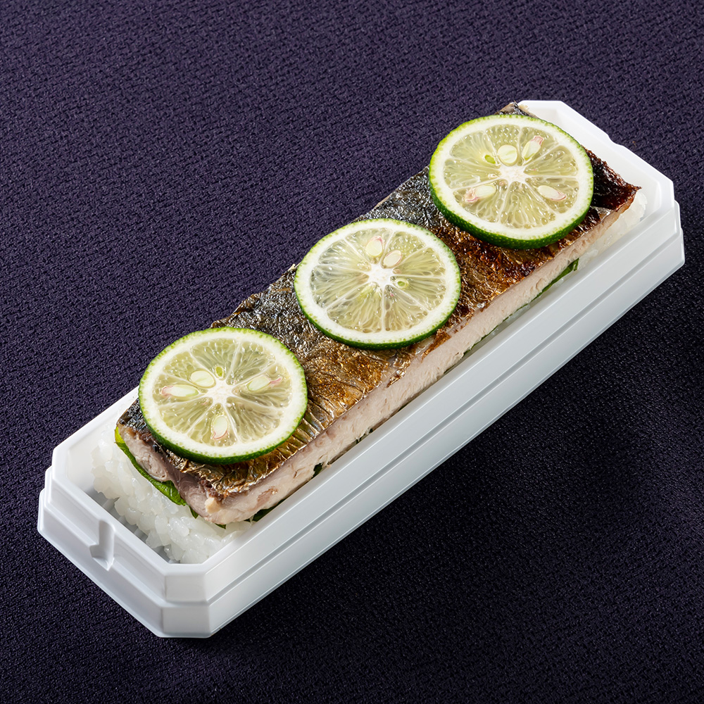 ふくいサーモンの昆布〆鮨 柚庵焼きサバ鮨 2本セット
