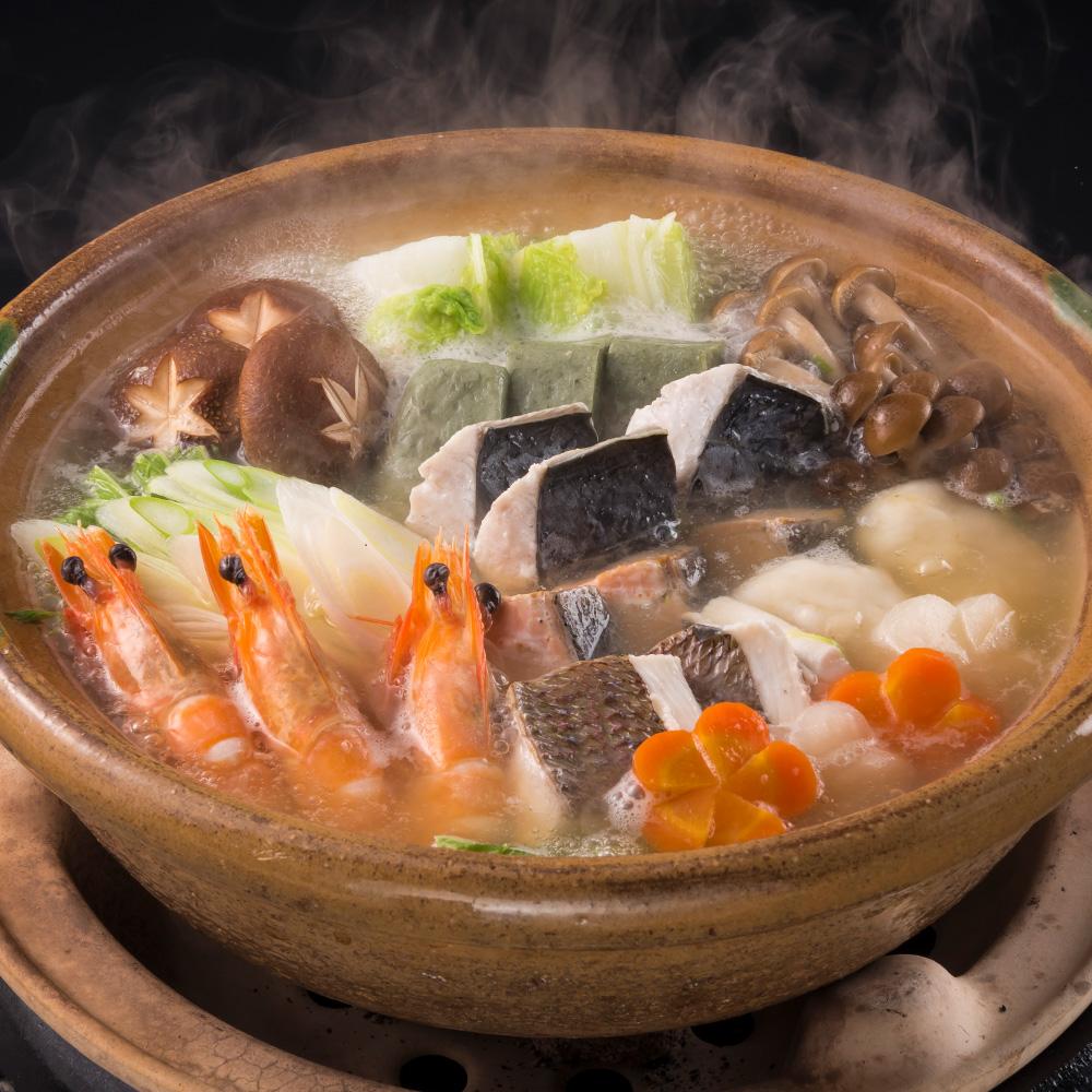 海の恵み鍋