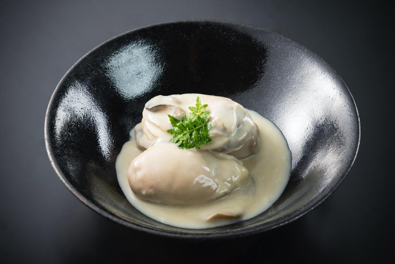 あん肝リエット・牡蠣の白味噌煮クリーム仕立て