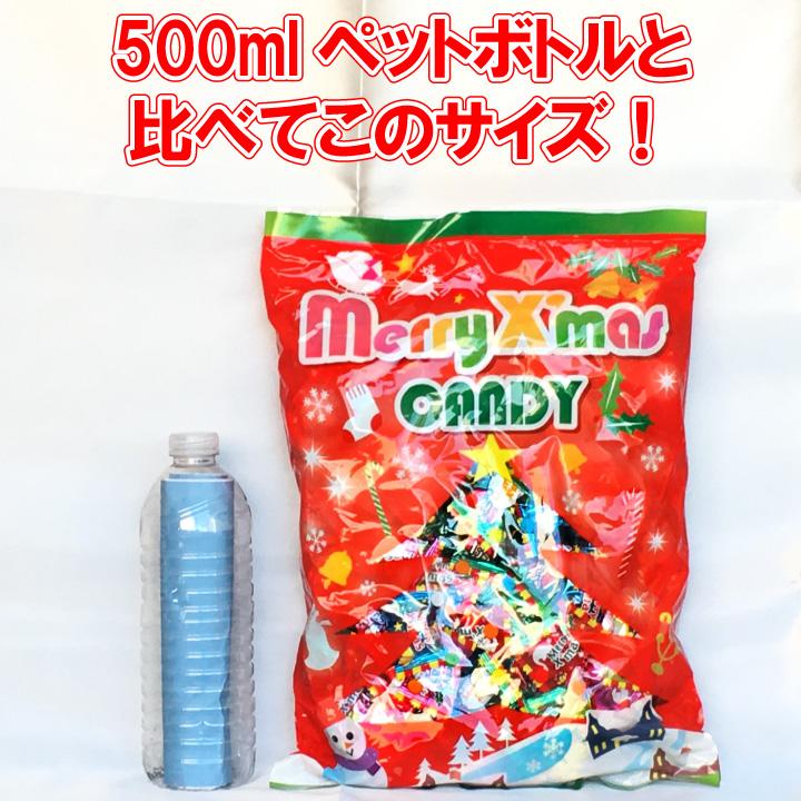 本州送料無料 クリスマス キャンディ 10kg (1kg×10袋) 約2,500粒 りんご レモン マスカット味