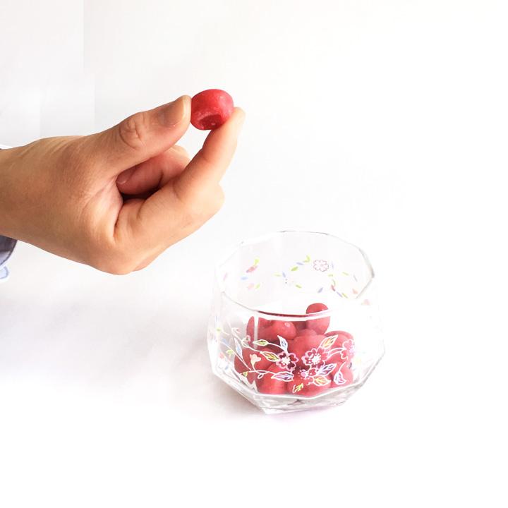 【送料無料】 うめ玉 6袋(約90粒) クリックポスト(代引き不可) 1袋約15粒入り 梅加工食品 南高梅使用 種なし たねなし 梅干し 紀州 梅 うめ 夏 塩分補給 すっぱい お菓子 おやつ 和歌山
