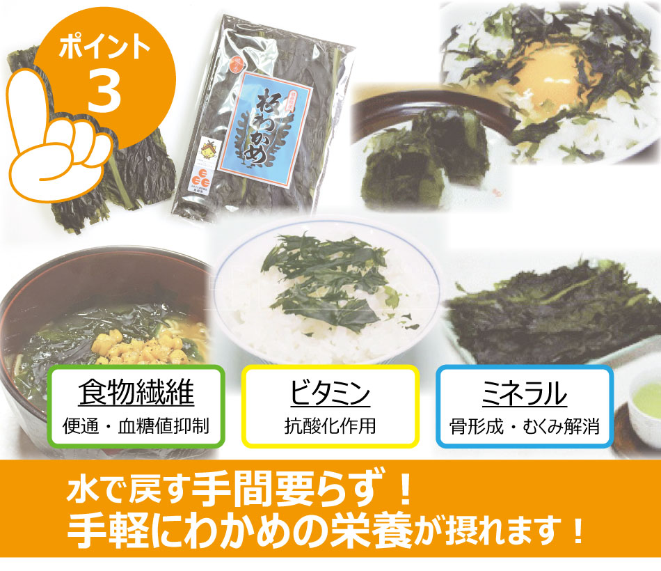 島根県産 板わかめ 16g×2袋 クリックポスト(代引き不可) お試し ふるさと認証食品