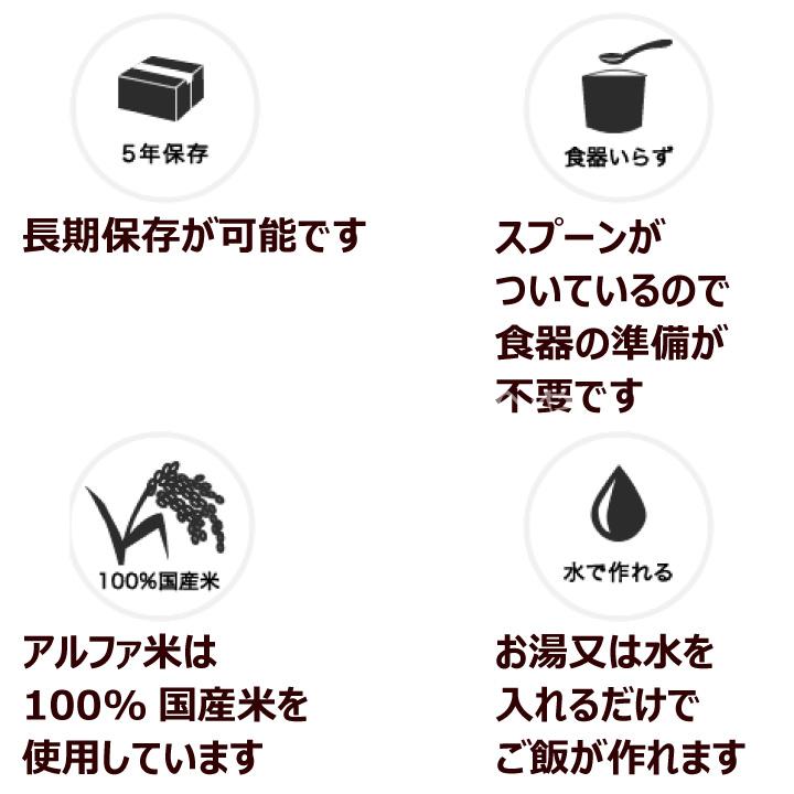 尾西食品 アルファ米 わかめごはん 10個セット スプーン付 長期保存可能 防災 非常食 保存食 携帯食