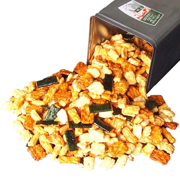 訳あり 一斗缶 おかき せんべい 詰め合わせ 2.5kg 煎餅 お得 お徳 大容量 賞味期限2021年10月12日