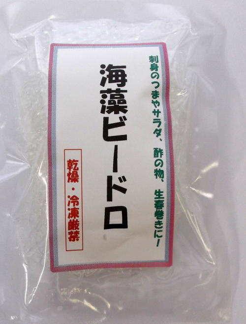 海藻ビードロ《海藻麺》