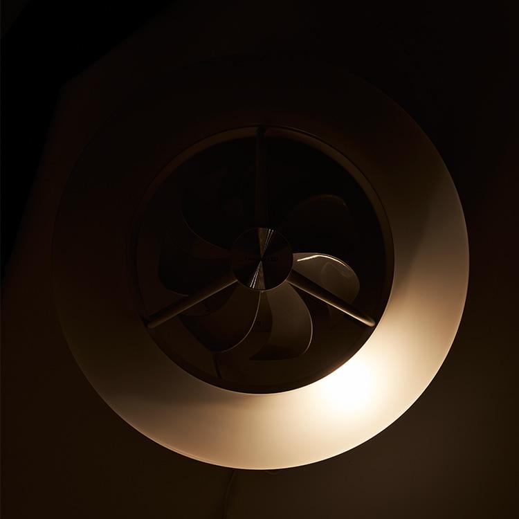ドウシシャ リモコン付きLedシーリングライト シーリングサーキュレーター DCC-08CM【調光調色 Luminous ルミナス シーリ