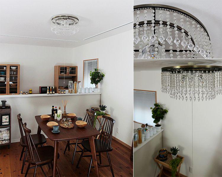シャンデリア アマンダ[Amanda]ボーベル[Beaubelle]シーリングライト 天井照明 照明器具 LED 6畳 おしゃれ 食卓用