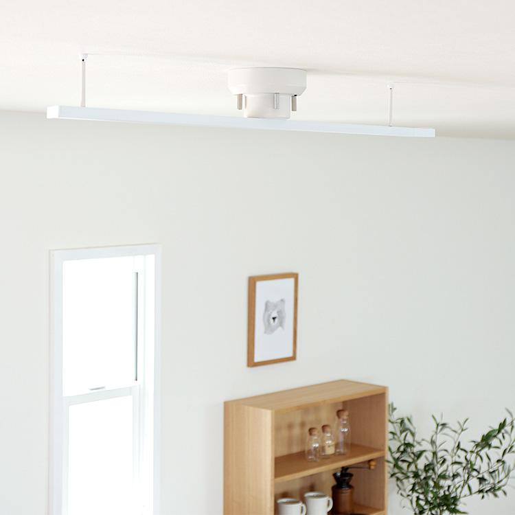 ライティングレール 1m BBA-006 | ダクトレール インテリアダクト 配線ダクト アクセサリー 黒 白 ブラック ホワイト おしゃれ インテリア 安い ダイニング