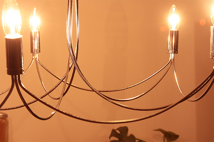 シャンデリア アンティーク ディクラッセ[DI ClASSE] アルコ グランデ[arco grande chandelier]|ペンダントライト 北