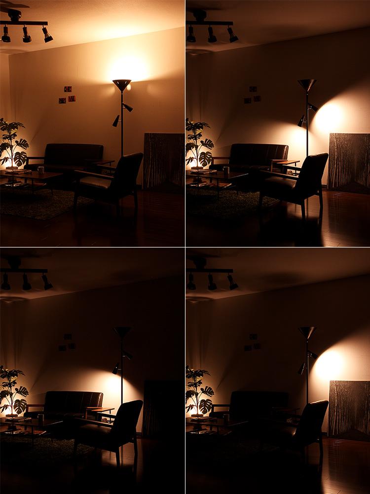 間接照明 照明 スタンドライト 3灯 シスベックアッパー[SixbecUpper]BBF-018 ボーベル フロアライト アッパーライト