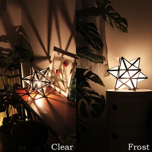 ディクラッセ [DI ClASSE] エトワール テーブルランプ [Etoile table lamp]|テーブルライト フロアライト ペ