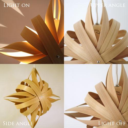 1灯 ペンダントライト照明 手裏剣[SHURIKEN]デザイナーズ 照明作家 谷俊幸|天井照明 間接照明 寝室 ダイニング